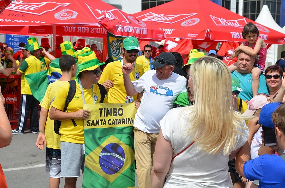 Бразильцы в Ростове-на-Дону